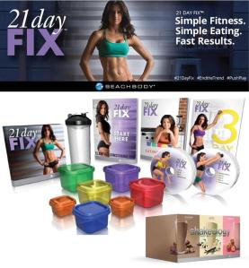 21 day fix all included